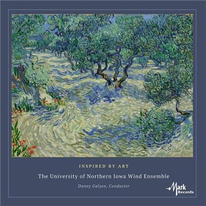 The University Of Northern Iowa Wind Ensemble & Danny Galyen - Inspired By Art