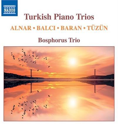 Bosphorus Trio, Ferid Alnar, Oguzhan Balci, Ilhan Baran (*1934) & Ferit Tüzün - Turkish Piano Trios