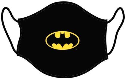 Mundschutzmaske Batman Logo - Für Kids von ca. 6 -13 Jahren