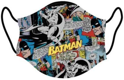 Mundschutzmaske Batman Comic - Für Erwachsene
