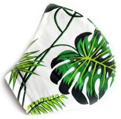 Mundschutzmaske Palmblatt