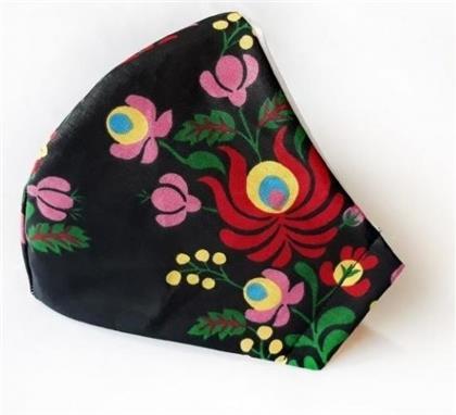 Mundschutzmaske Blumen