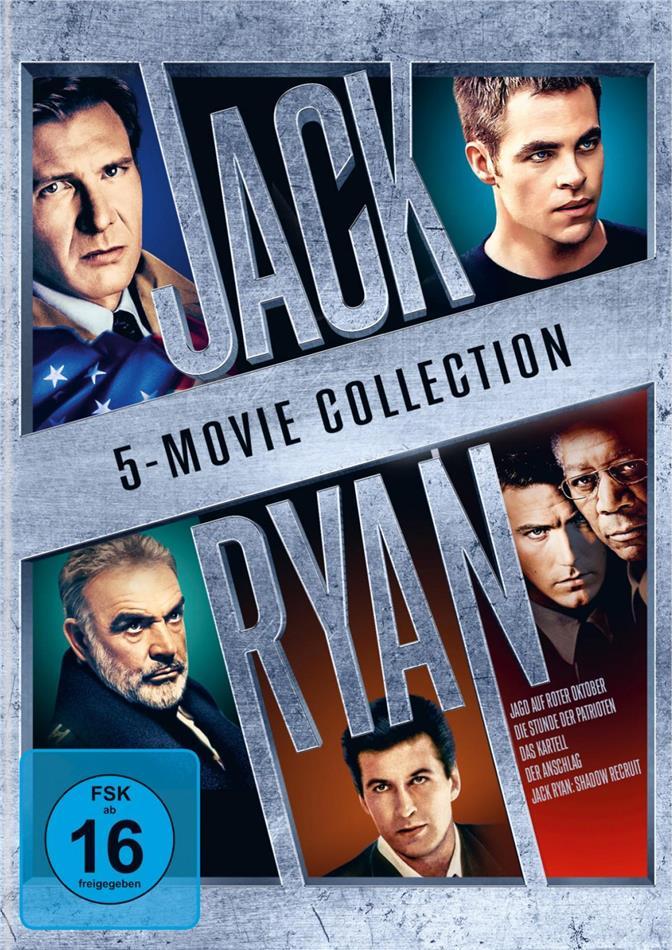 Jack Ryan - 5-Film Collection (5 DVDs)