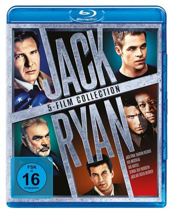 Jack Ryan - 5-Film Collection (5 Blu-rays)