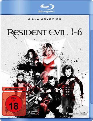 Resident Evil 1-6 (6 Blu-rays)