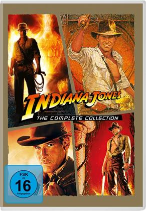 Indiana Jones 1-4 (5 DVDs)