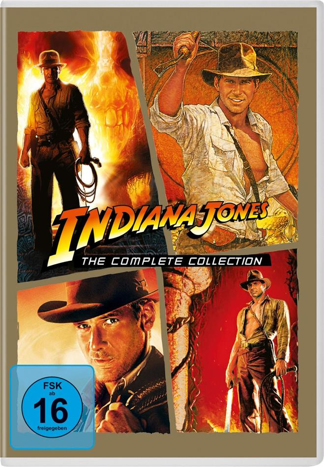 Indiana Jones 1-4 - The Complete Collection (4 DVD)