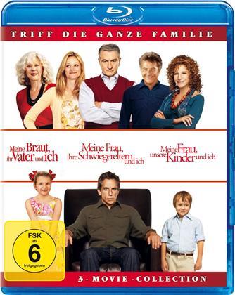 Meine Braut, ihr Vater und ich / Meine Frau, ihre Schwiegereltern und ich / Meine Frau, unsere Kinder und ich - 3-Movie-Collection (3 Blu-rays)