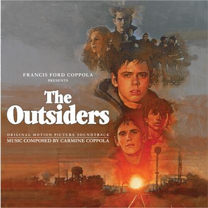 Carmine Coppola - The Outsiders - OST (2020 Reissue, Silva Screen, Orange/Blue Vinyl, LP)