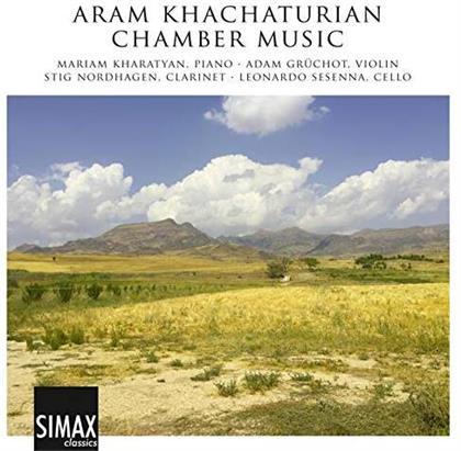 Aram Khatchaturian (1903-1978), Stig Nordhagen, Adam Grüchot, Leonardo Sesenna & Mariam Kharatyan - Chamber Music