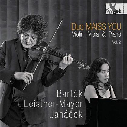 Duo Maiss You, Béla Bartók (1881-1945), Burkhard Maiss & Ji-Yeoun You - Violin / Viola & Piano 2