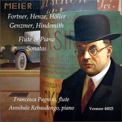 Francesca Pagnini & Annibale Rebaudengo - Flute & Piano Sonatas