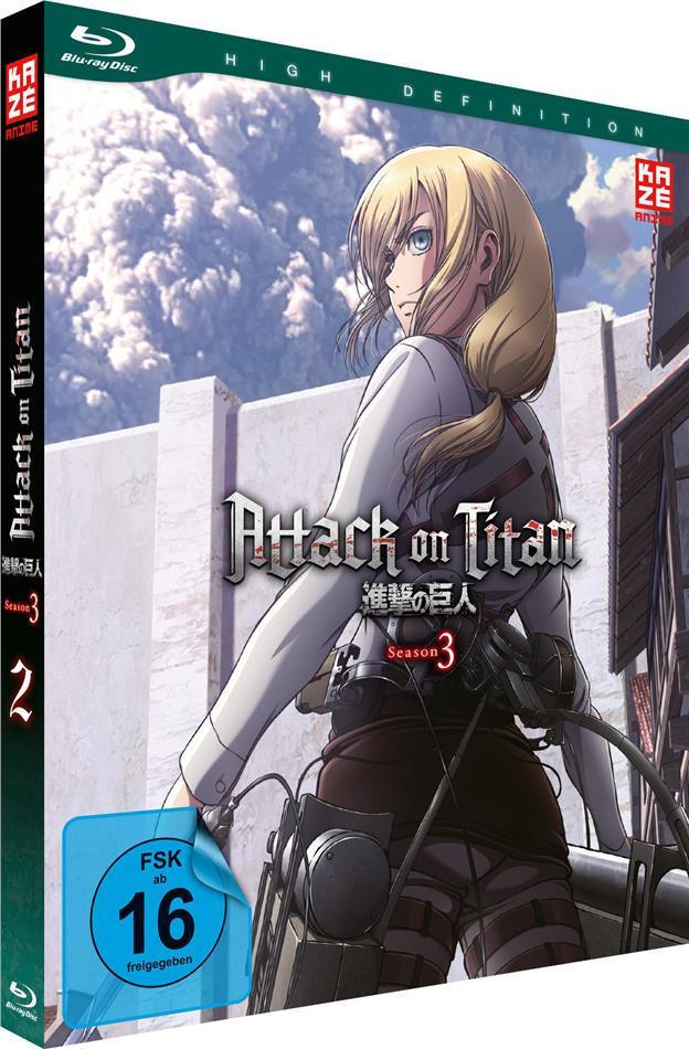 Attack on Titan - Staffel 3 - Vol. 2