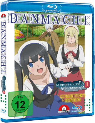 DanMachi – Is It Wrong to Try to Pick Up Girls in a Dungeon? - Staffel 2 - Vol. 4 (Collector's Edition Limitata)