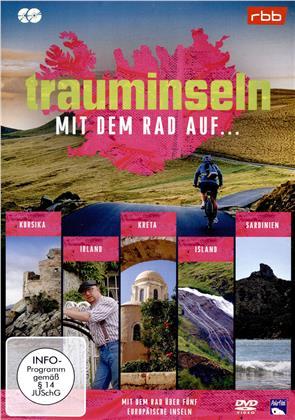 Trauminseln - Mit dem Rad auf... - Korsika / Ireland / Kreta / Island / Sardinien (2 DVDs)
