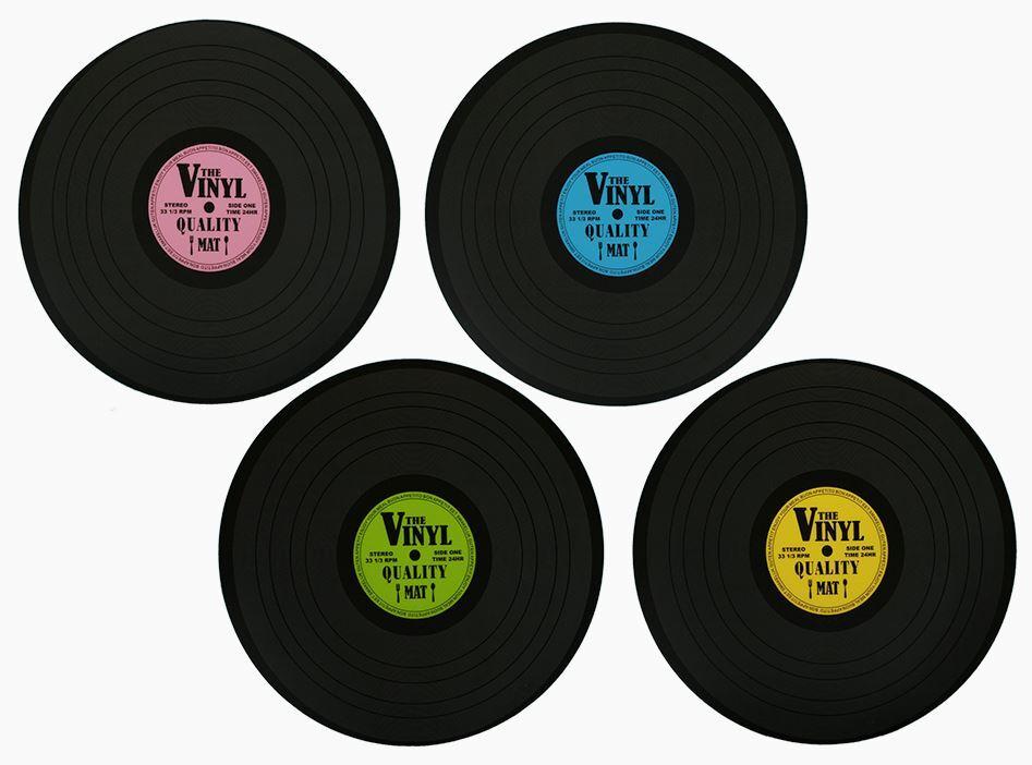 Tischset Schallplatte/Vinyl aus Polypropylen