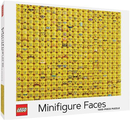 LEGO® Minifigure Faces - 1000 Piece Puzzle