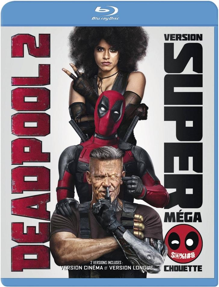Deadpool 2 (2018) (Extended Edition, Kinoversion, 2 Blu-rays)