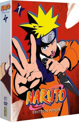 Naruto - Coffret 1 - Edition Ninja (10 DVDs)