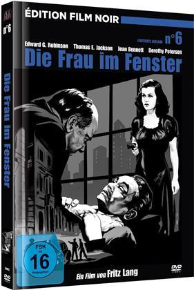 Die Frau im Fenster (1944) (Édition Film Noir, n/b, Edizione Limitata, Mediabook, Versione Rimasterizzata)