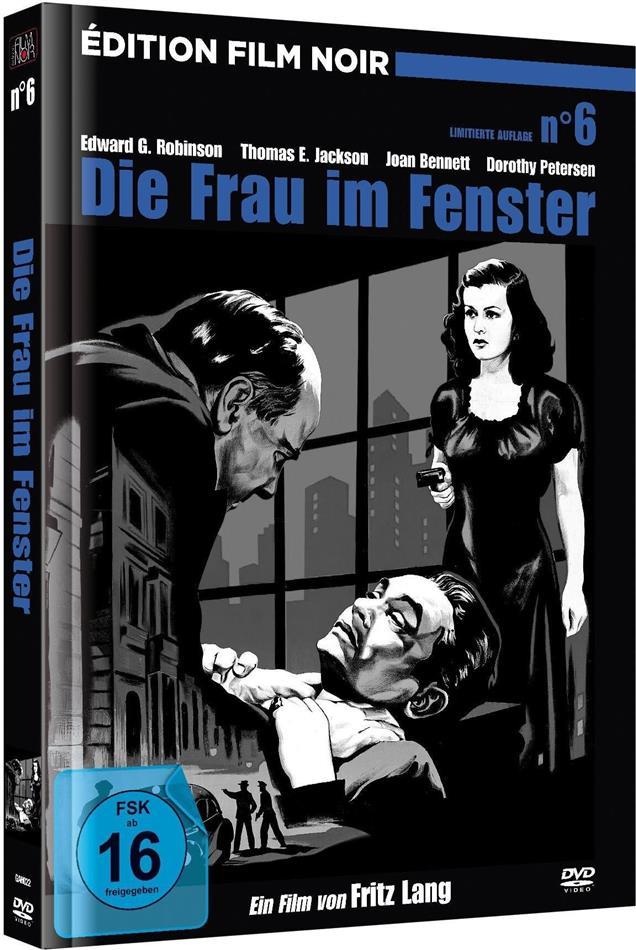 Die Frau im Fenster (1944) (Édition Film Noir, s/w, Limited Edition, Mediabook, Remastered)