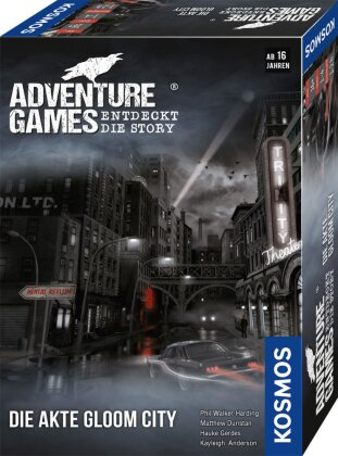 Adventure Games - Die Akte Gloom City