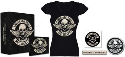 Brüder4Brothers (Frei.Wild+Orange County Choppers) - Brotherhood (Boxset, T-Shirt Girl L, Limited Edition)