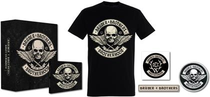 Brüder4Brothers (Frei.Wild+Orange County Choppers) - Brotherhood (Boxset, + T-Shirt M, Limited Edition)