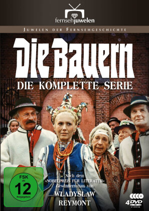 Die Bauern - Die komplette Serie: Teil 1-13 (Filmjuwelen, 4 DVDs)