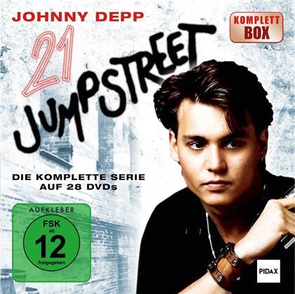 21 Jump Street - Die komplette Serie (Pidax Serien-Klassiker, Komplettbox, 28 DVDs)