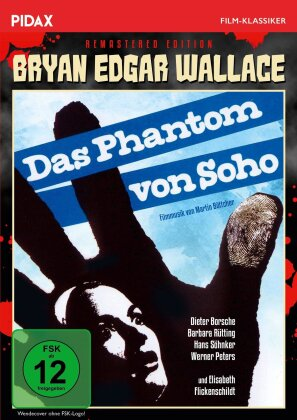 Das Phantom von Soho (1964) (Pidax Film-Klassiker, s/w, Remastered)