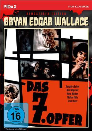 Das 7. Opfer (1964) (Pidax Film-Klassiker, s/w, Remastered)