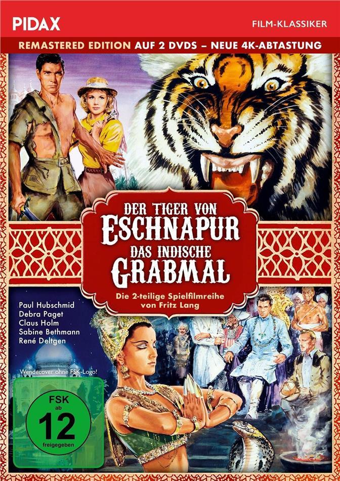 Der Tiger von Eschnapur / Das indische Grabmal (1959) (Pidax Film-Klassiker, Remastered, 2 DVDs)