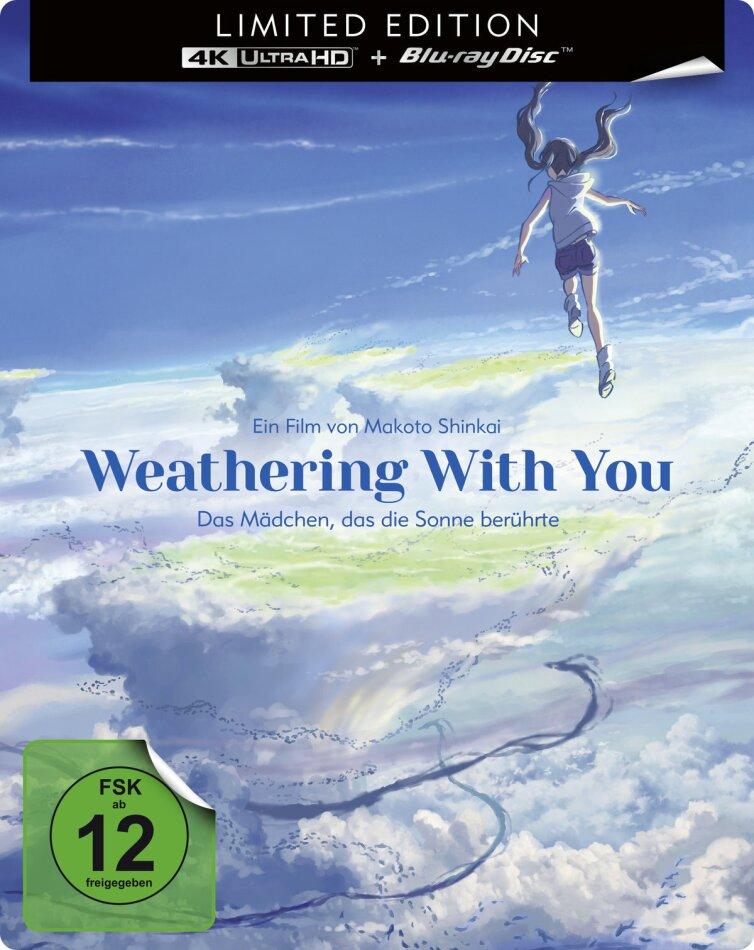 Weathering With You - Das Mädchen, das die Sonne berührte (2019) (Limited Edition, Steelbook, 4K Ultra HD + Blu-ray)