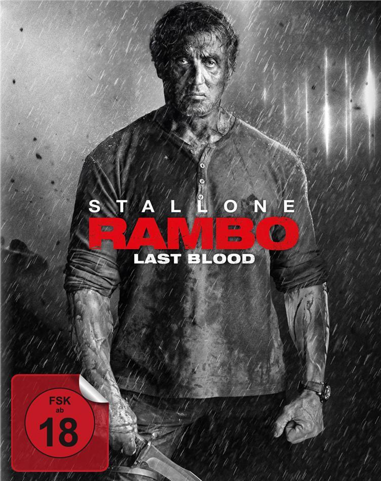 Rambo 5 - Last Blood (2019) (Limited Edition, Mediabook, Blu-ray + DVD)