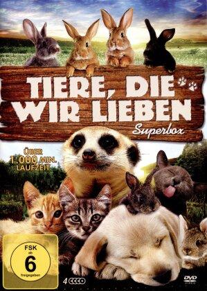 Tiere, die wir lieben - Suberbox (4 DVDs)