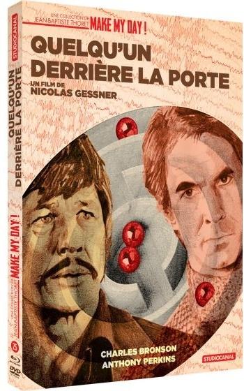 Quelqu'un derrière la porte (1971) (Make My Day! Collection, Schuber, Digibook, Blu-ray + DVD)