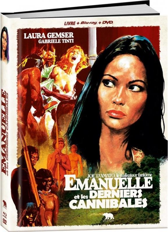 Emmanuelle et les derniers cannibales (1977) (Collector's Edition, Blu-ray + DVD)