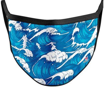 Mundschutzmaske Tsunami - Für Kids von ca. 6 -13 Jahren