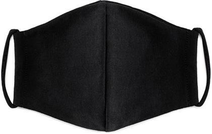 Mundschutzmaske Schwarz - 100% Baumwolle