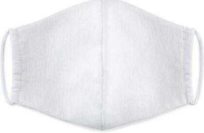 Mundschutzmaske Weiss - 100% Baumwolle