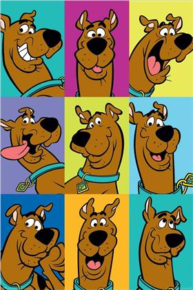 Scooby Doo (The Many Faces of Scooby Doo) Maxi Poster