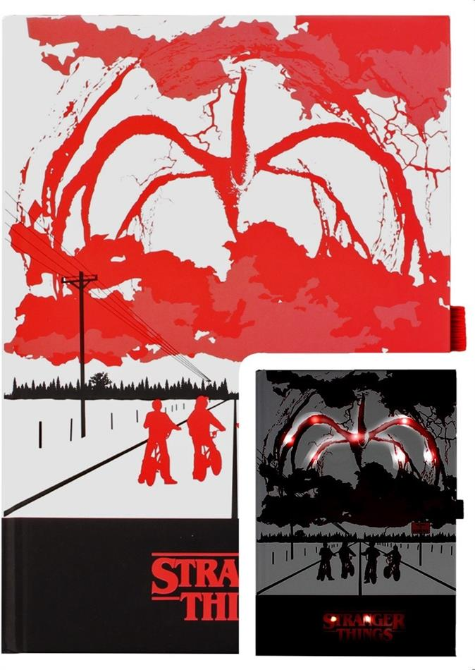 Stranger Things (Mind Flayer) Light Up Premium A5 Notebook