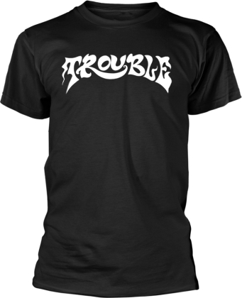 Trouble - Logo 2 (Black)