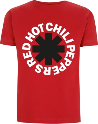 Red Hot Chili Peppers - Classic Black & White Asterisk