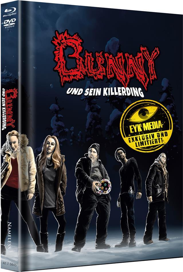 Bunny und sein Killerding (2015) (Cover D, Limited Edition, Mediabook, Uncut, Blu-ray + DVD)