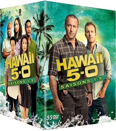 Hawaii 5-O - Saisons 1-9 (2010) (55 DVDs)