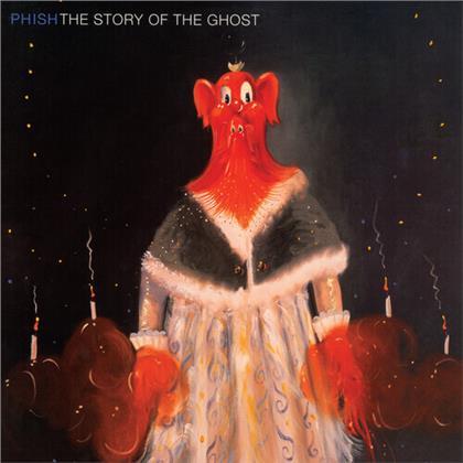 Phish - Story Of The Ghost (Gatefold, 2020 Reissue, Jemp Records, Red/Black Vinyl, LP)