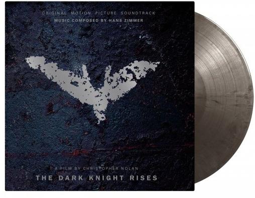 Hans Zimmer & James Newton Howard - Batman - Dark Knight Rises - OST (2020 Reissue, Music On Vinyl, Limited, Black/Silver Vinyl, LP)