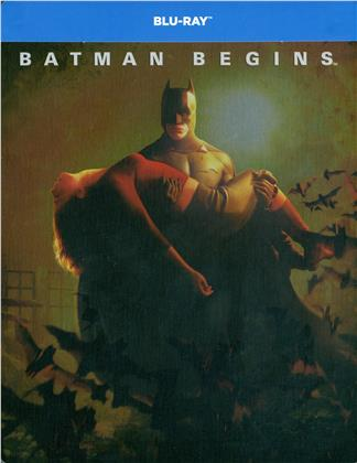 Batman Begins (2005) (Limited Edition, Steelbook, 2 Blu-rays)